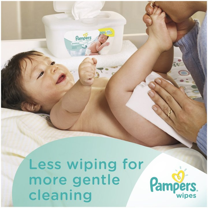 Pampers Sensitive Baby Wipes Refill -192ct