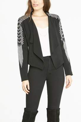 BB Dakota Crepe Blazer