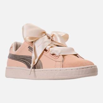 Puma Women's Basket Heart Up Casual Shoes
