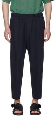 Jil Sander Blue Priamo Trousers