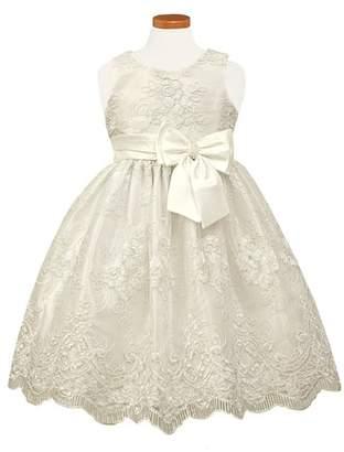 Sorbet Embroidered Fit & Flare Dress
