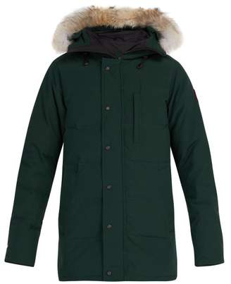 Canada Goose - Carson Quilted Down Parka - Mens - Dark Green