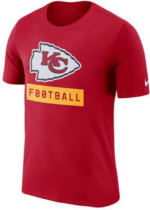 Nike Men's Kansas City Chiefs Legend Football Equipment T-Shirt