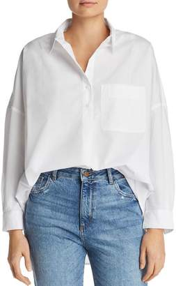 French Connection Laselle Oversized Cotton Shirt