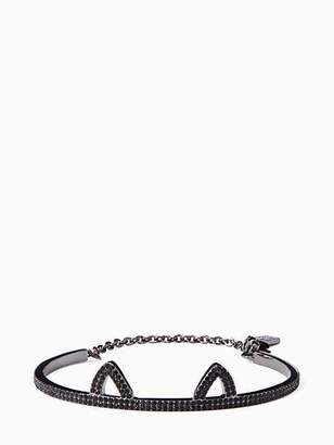 Kate Spade Out west pave cat ear bracelet