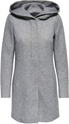 Dorothy Perkins Womens **Only Grey Hooded Coat