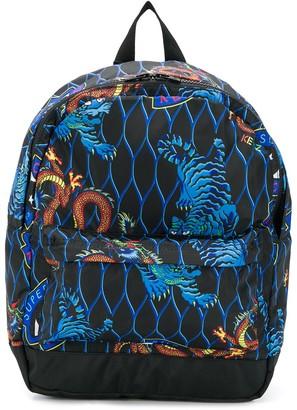 Kenzo dragon-print backpack