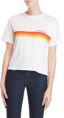 Dickies Tomboy Logo Stripe Graphic Tee