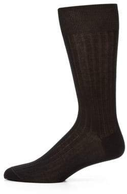 Saks Fifth Avenue COLLECTION Cotton-Blend Dress Socks