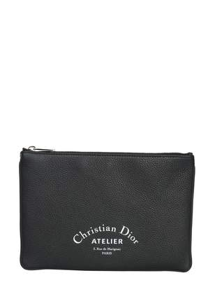 Christian Dior Small Leather Clutch