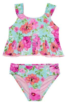 Hula Star Princess Floral Two-Piece Swimsuit