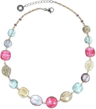 Antica Murrina Florinda Transparent Murano Glass Beads Necklace $90 thestylecure.com