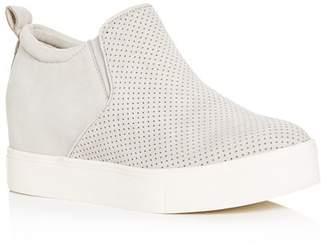 J/Slides Women's Sallie Hidden Wedge Sneaker Booties