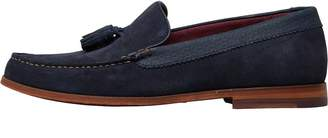 Ted Baker Mens Dougge Suede Shoes Dark Blue