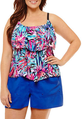 Maxine Of Hollywood AZUL BY Azul by Tankini Swimsuit Top-Plus