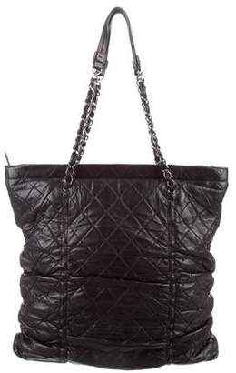 Chanel Quilted Chain Tote