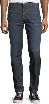 Emporio Armani Mid-Wash Five-Pocket Jeans