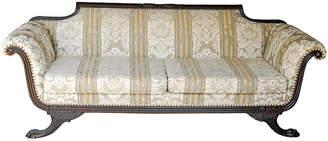 One Kings Lane Vintage 1860 Empire Duncan Phyfe Clawfoot Sofa - Vaillant & Cie
