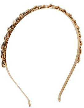 Rosantica By Michela Panero - Crystal Embellished Gold Tone Headband - Womens - Crystal