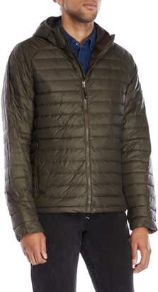 Weatherproof Hooded Packable Down Jacket