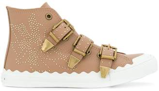 Chloé embellished sneakers