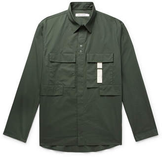 Craig Green Cotton-Ripstop Shirt - Men - Army green