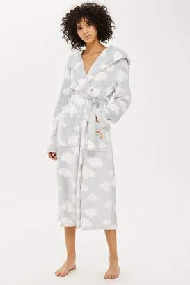 Topshop Tall Cloud Longline Dressing Gown