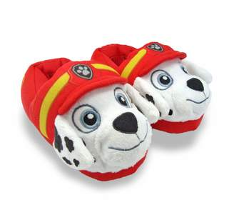 Nickelodeon PAW Patrol PAW Patrol Marshall Boys Girls Character 3D Plush Slippers
