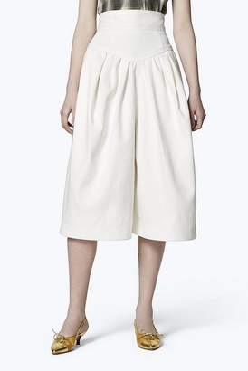 Marc Jacobs High-Waist Denim Culotte Shorts