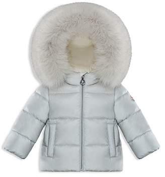 Moncler Unisex Teiki Fur-Trimmed Down Jacket - Baby