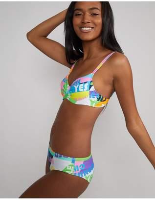 Cynthia Rowley Good Vibes Lola Bikini Top