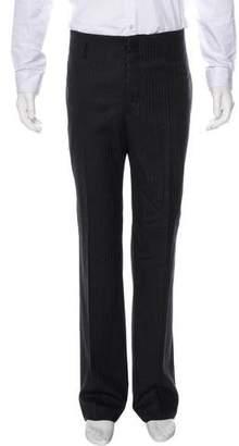 Gucci Wool Pinstriped Pants