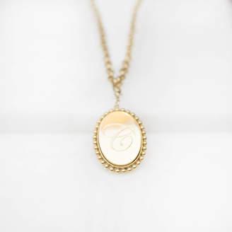Anna Lou of London Alphabet Chain Charm Necklace