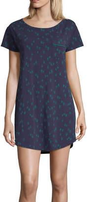 Liz Claiborne Knit Holiday Nightshirt