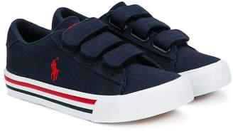 Ralph Lauren logo sneakers