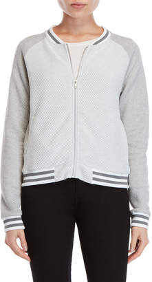 BB Dakota Textured Raglan Bomber Jacket