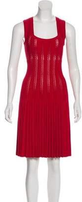 Alaia A-Line Pleated Dress w/ Tags