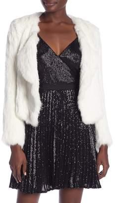 Joie Agnel Fur Coat