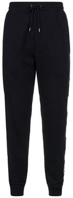 McQ Swallow Patch Embellished Sweatpants