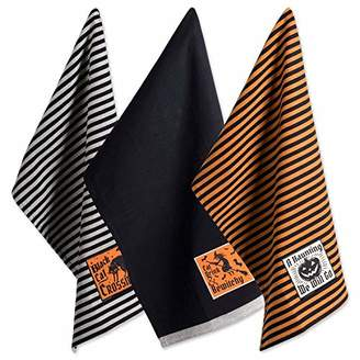 DII Cotton Halloween Holiday Dish Towels