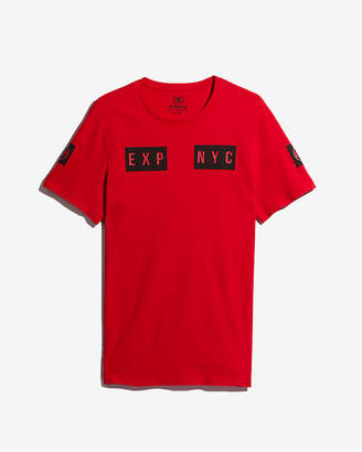 Express Exp Nyc Raised Graphic Tee