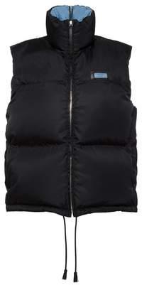 Prada Nylon Gabardine Puffer Vest