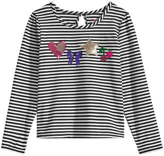 Epic Threads Little Girls Keyhole-Back T-Shirt, Created for Macy's