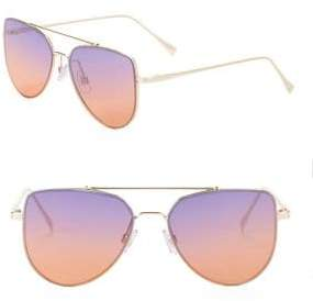 KENDALL + KYLIE Rowan 55MM Aviator Sunglasses