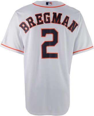 Majestic Men's Alex Bregman Houston Astros Player Replica Cb Jersey