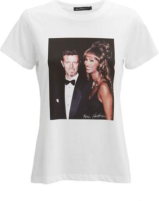 Iman Rose Hartman Bowie And T-Shirt