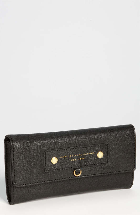 MARC BY MARC JACOBS 'Preppy Leather' Continental Wallet