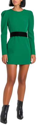 P.A.R.O.S.H. Short Dress With Puffed Sleeves