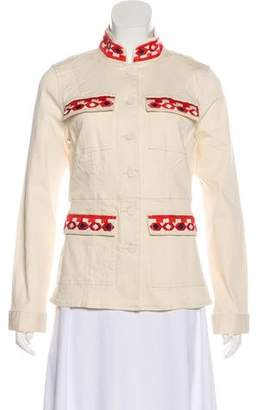 Tory Burch Embroidered Knit Jacket w/ Tags