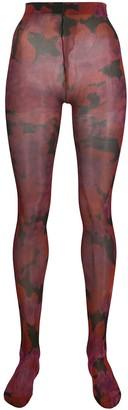 Richard Quinn floral tights